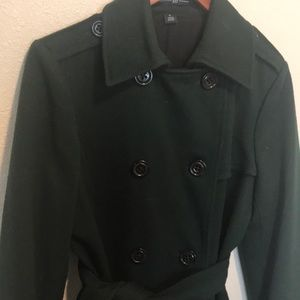 GAP Jackets & Coats - Hunter Green Coat by GAP! ❤️